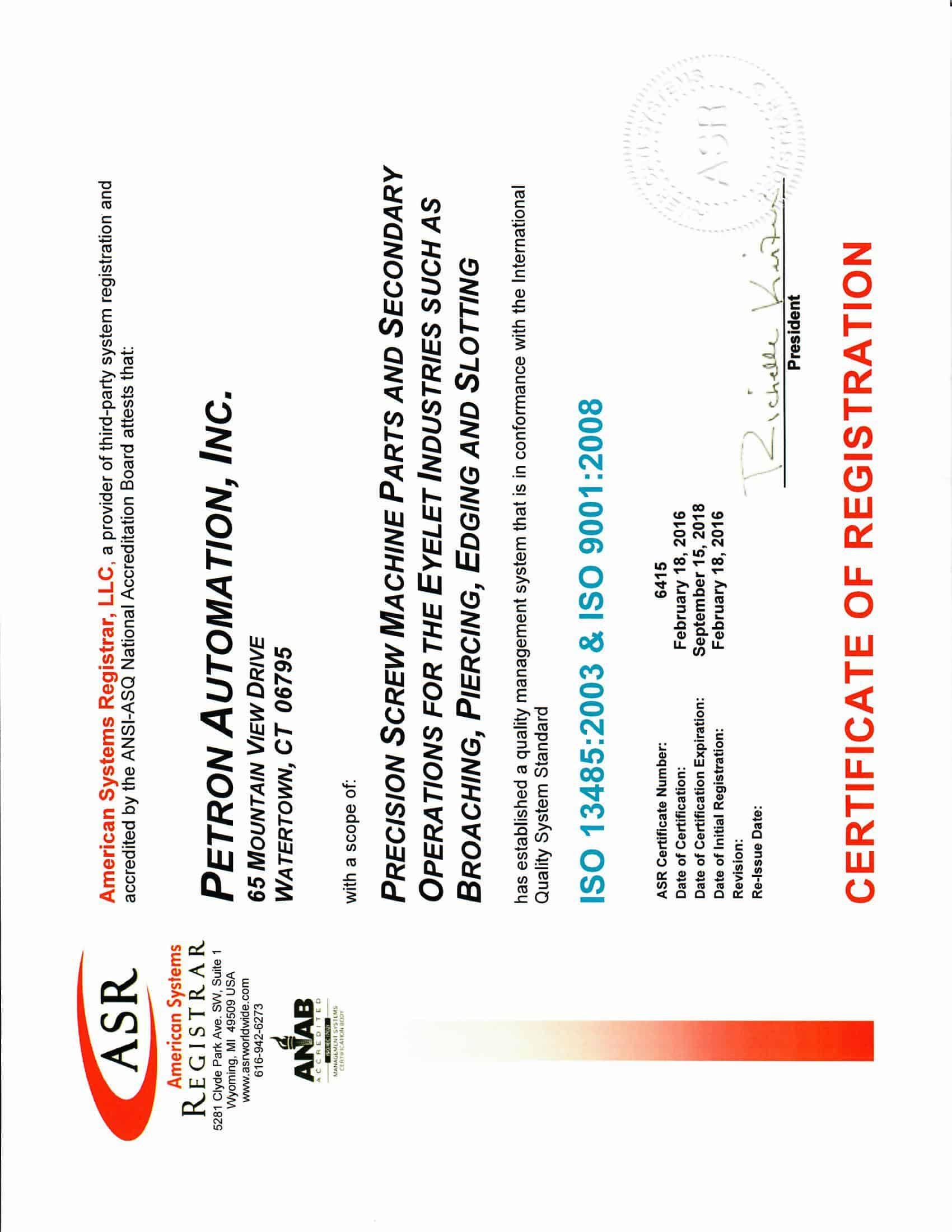 Asr certification xflitez Choice Image